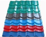 Azulejo de azotea de la onda del PVC que hace la línea