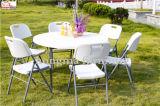 Repose 6 la table ronde en plastique des personnes 4ft