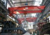 pont roulant de poutre de double de l'aciérie 74/20ton avec l'élévateur électrique