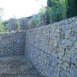 pared/cesta soldadas los 2X1X1m del rectángulo de Gabion