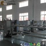 PP/PE/PVC 목제 플라스틱 WPC 단면도 생산 라인 /PVC 밀어남 기계