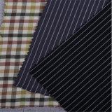 Garn-gefärbtes graues Gewebe der Baumwolle100pct