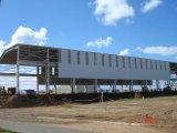 Taller/almacén prefabricados de la erección del marco de acero
