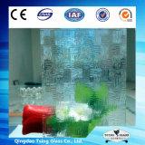 la glace décorative de 4mm/5mm/6mm/a conçu la glace écran en verre/en soie/glace estampée