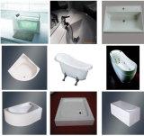 Qualidade sanitária PMMA Branco Folha de acrílico para Sala de lavagem de banheira