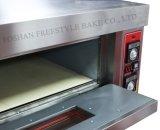 Four en carlingue électrique en acier inoxydable pour boulangerie à la pierre (WDL-2-4)