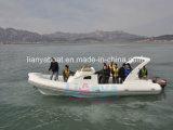 Le yacht gonflable rigide de la Chine du canot 300HP de Liya 8.3m fabrique
