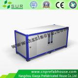 Escritório de contentores móveis portátil de estrutura de aço