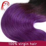 22 Polegadas Ombre Multi Color 1b Shunfa roxo Peças de cabelo Express, 100% tintura para cabelo virgem e alisador de cabelo Todos os cabelos disponíveis