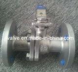 Válvula de bola con bridas 2PC de acero inoxidable (Q41F-16P)