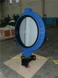 Escolhir a válvula de nylon flangeada de Buterfly da bolacha da pintura (D71X-10/16)