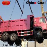 6X4 de Vrachtwagen van de Stortplaats van de Kipper van de Mijnbouw van de Voorraad HOWO van de aandrijving 371HP