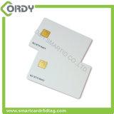 sle4442 SIM 카드 크기 접촉 카드는 인쇄할 수 있는 PVC 공백을 디자인했다