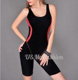 Длина колена новых женщин костюма Swim конструкции один Swimsuit части