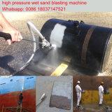 50 Мпа высокой Pressur воды песок дробеструйная очистка машины ржавчины Удаление краски машины