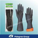 Промышленные перчатки с черным цветом