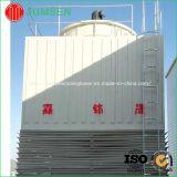 Torre refrigerando industrial de fluxo transversal do baixo ruído