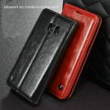 O melhor Selling Flip plutônio Leather Caso de 2016 para Samsung Galaxy S7 Cell Phone Cover Caso
