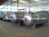 Réservoir de vulcanisation de boyau en caoutchouc/chaudière d'autoclave pneu automatique/réservoir de vulcanisation de rechapage de corriger