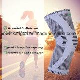 ISO genehmigtes Bambusknie unterstützen Komprimierung-Knie-Hülse für das Gewicht-Anheben Crossfit Powerlifting