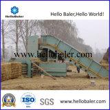 Máquina de embalaje hidráulica horizontal de la paja de la capacidad 8ton
