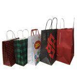 브라운 고아한 Kraft 종이 봉지 또는 크리스마스 선물 부대