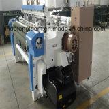 Máquina doble de Airjet de la boquilla de telar de la tela del dril de algodón de la alta calidad