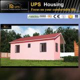 De milieuvriendelijke Villa's van het Huis van de Verlichting Prefab met Twee Slaapkamers
