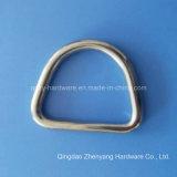 Anello saldato D dell'acciaio inossidabile