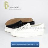 Breathable обувь платформы Slip-on PU для девушок и повелительниц