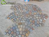 Wellest 메시 돌을 포장하는 녹스는 슬레이트 메시 슬레이트 포석 정원 또는 안뜰