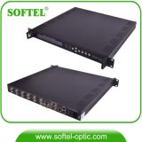 input 2*Asi & 2*1000Mbps multiplexor del IP CATV con i nanometri