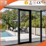 L'interruption thermique des Etats-Unis en aluminium choisissent la porte articulée pour la villa