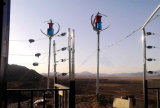 Turbina Eólica de Eixo Vertical com off-Grid System (200W-5kw)