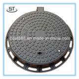 Круглая дуктильная крышка люка -лаза утюга Dia600mm