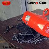 1 Diesel van de Kraan van de Motor van de Keten van de ton Elektrisch Hijstoestel