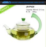 POT di vetro Mano-Saltato 600ml del creatore di tè per articolo da cucina