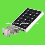 8W Outdoor tous dans une lampe solaire de la rue/route d'éclairage LED/lampe solaire avec détecteur de mouvement