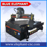 Máquina de madeira 4D fresadora CNC de trabalho da madeira do Blue Elephant