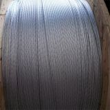Steel galvanizado Wire para Power Cable Steel Wire para Telecommunication Wire Galvanized Strand Wire para Telephone Cable