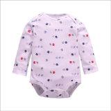 O algodão do fato triangular escala acima a roupa para o bebê novo