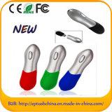 Memória Flash plástica da movimentação do flash do USB com logotipo feito sob encomenda (ET066)