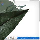 Vente en gros 14 * 26 pouces Green PP en tissu sac de sable