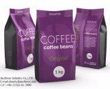 نمو أسلوب بلاستيك بيع بالجملة عالة طباعة قهوة صغيرة يرقّق حقيبة
