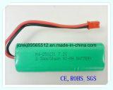 Ni-MH 2/3aap-7.2V 650mAh para juguetes eléctricos, batería, el DVD portátil, herramientas eléctricas, sistema de alarma, batería recargable