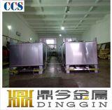 De vierkante Container van het Roestvrij staal IBC met het Voetstuk van de Pallet