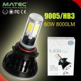 G5 Hb3 OEM LED 9005 Kit de faros de niebla bombilla de 80W 8000LM