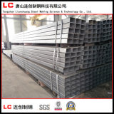 Tubo/tubo huecos negros de la sección para el edificio de la estructura en alto calidad