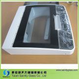 3mm6mm Curved (aangemaakte) Toughened Tinted Decorative Glass Panel voor Wash Machine (de delen van het huistoestel)