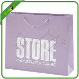 Bolsa de regalo papel impreso decorativo con asa de cuerda